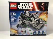 Brand New- Lego Star Wars 75100 - First Order Snowspeeder - Retired