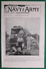1900 BOER WAR ERA NEWS WAR CORRESPONDENT Mr HARFORD HARTLAND MOBILE PHOTOGRAPHER