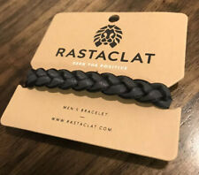 Rastaclat Void Classic Braided LION HEAD Bracelet Black