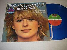 France Gall maxi vinyl bleu français Besoin d'amour