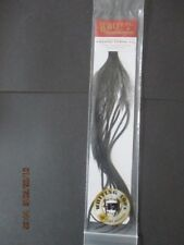 whiting 100s black size 18 saddle feathers flytying materials