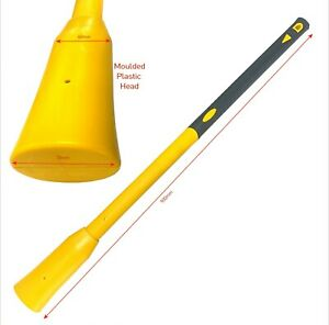 Spare 900mm Fibreglass Pick Axe Handle for Garden Trench Land Digging Tool