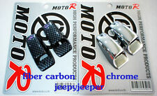 CHROME WASHER JET COVERS RANGE LAND ROVER DISCOVERY FREELANDER WAGON MGF 75 TF
