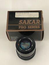 Sakar Pro Series 70-210mm F4-5.6 Lens For Nikon AF Mount New with boxing