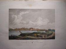 España. Extremadura. Badajoz «Vista general de Merida» Alexandre Laborde (1810-1