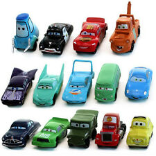 14Pcs CARS Figures Lightning McQueen Sally Mater Guido Mack Game Kids Toy Figure