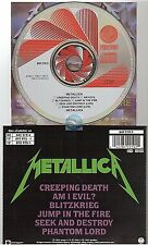 METALLICA creeping death / jump in the fire CD MAXI west germany 842 219-2