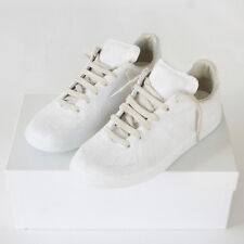 MAISON MARTIN MARGIELA 22 white plaster cast shoes army trainers sneakers 39 NEW