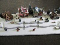 4 FT Christmas Village Display Base Platform J42 Dept 56 Lemax Snow Village