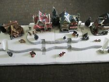 Christmas Village Display Base Platform J42 For Lemax Dept56 Dickens + More