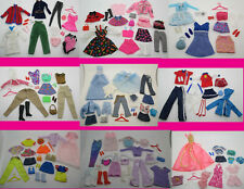 HUGE LOT of 147 VINTAGE to 1990s BARBIE FAMILY & FRIENDS CLOTHES & ACCESSORIES