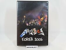 METALLICA KOREA 2006 LIVE TOUR DVD FILM MOVIE ORIGINALE