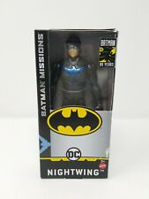"""DC Batman Missions: NIGHTWING 6"""" Action Figure - BRAND NEW!!!"""