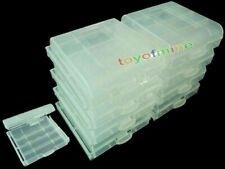 CLEAR CASE Rechargeable AA AAA 2A 3A Battery x 9 box