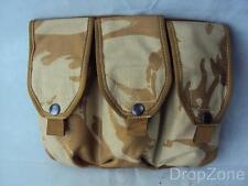 British Military Desert DPM Triple Ammo Ammunition Pouch Webbing Bag