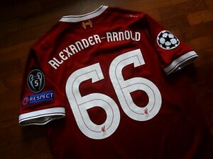 Authentic 17/18 Liverpool FC Home 125 Years Alexander-Arnold Jersey Shirt Small