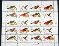 US Stamp 32c Birds Carib Cardinal Honeycreeper Euphonia 1997 20-Sheet MNH A23C