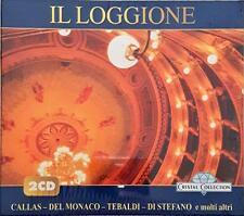 IL LOGGIONE DOPPIO CALLAS DEL MONACO TEBALDI DI STEFANO CD SEALED SIGILLATO