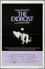 THE EXORCIST original 1974 one sheet 27x41  movie poster EXCELLENT SHAPE