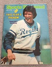 SPORTS ILLUSTRATED MAGAZINE Clint Hurdle Kansas City Royals March 1978 Rare