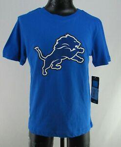 Detroit Lions NFL Kids Blue Logo T-Shirt