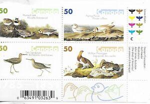 CANADA , Birds set of 4 in block  MINT NH