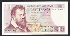 Belgium 100 Francs  1972  VF  P. 134,  Banknote, Circulated