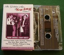 Frank Sinatra & Tommy Dorsey Golden Age of Swing Vol 4 Cassette Tape - TESTED
