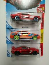 NEW Hot Wheels 92 Ford Mustang, custom 15 and 67 mustang 1/64 lot of 3 diecast