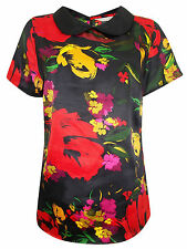 Short Sleeve Stretch Plus Size Blouses for Women