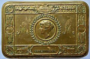 Medal - Princess Mary Christmas 1914 Brass Gift Tin for Chocolate / Tobacco