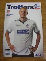 16/09/2014 Bolton Wanderers v Rotherham United  . Bobfrankandelvis (aka Footy Pr