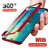 For Huawei P30 Pro Mate 20 Hybrid 360° Protective Case Cover+Screen Protector
