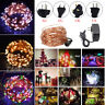 Indoor Outdoor Christmas 10-400 LED String Fairy Wedding Garland Decor Lights