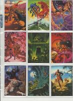 1995 FPG - JOE JUSKO Series 2 - Complete Set of 60 Collectable Cards - Burroughs