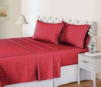 500 Thread Count 100% Pima Cotton Stripe New sheet Set