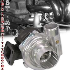 Diy Jdm T3 T3/T4 Turbo Charger Turbine .63 Ar Trim 5 Bolt Downpipe Flange 300Hp