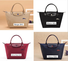 LongChamp Le Pliage Club Top Handle Small Women's Bag Handbag Tote with Horse