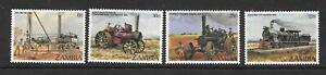 ZAMBIA SG375/8 1983 EARLY STEEM ENGINES MNH