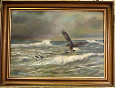 A. DUPONT! EAGLE HUNTING DUCKS. NO RESERVE
