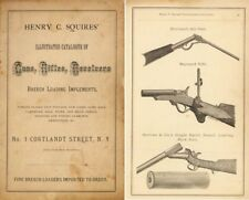 Henry Squires 1876 Catalog of Guns and Implements