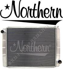 "Northern 209691 2-Row Race Pro Aluminum Radiator GM Chevy 28"" x 19"" Triple Pass"