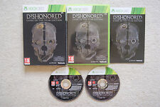 Dishonored Juego del Año Edición Xbox 360 - 1st CLASE GRATIS UK FRANQUEO