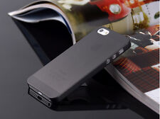 0.3mm Ultra Thin Slim Matte Hard Back Case Cover Skin For Apple iPhone 4 5C SE
