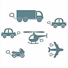 Cars Wall Stickers Airplane Bedroom Art Car Home Decor Decal Sticker