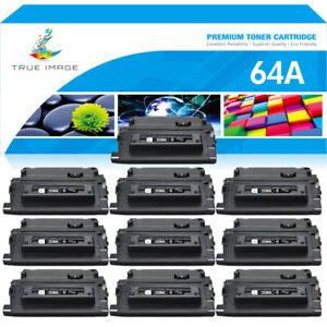 10PK CC364A Toner Cartridge Compatible For HP 64A LaserJet P4014n P4015n P4515n