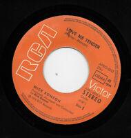 "MICK RONSON * LOVE ME TENDER * GERMAN 7"" SINGLE RCA APBO-0212 PLAYS GREAT"
