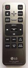 NEW ORIGINAL LG AKB74375509 SOUND BAR REMOTE CONTROL : LAS851M LAS851