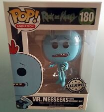 Rick and Morty Mr. Meeseeks Exclusive Funko Pop Figure Serie Tv Animation