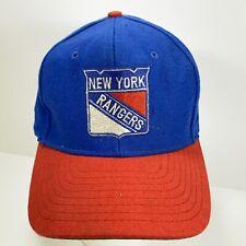 Vintage New York Rangers Hat Cap Snapback Official NHL Hockey Adjustable